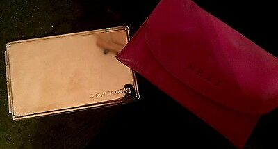 New Metal Pocket Address book From Next With Pink Leather Purse