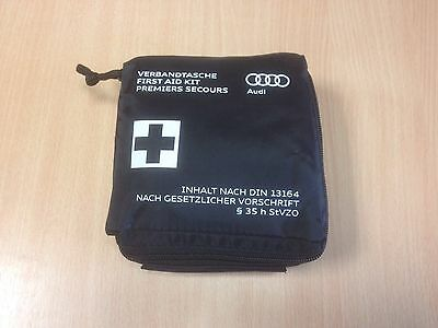 Genuine Audi First Aid Kit TT Q7 A4 A8 S4 RS4 Verbandtasche Premiers Secours