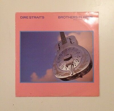 """Dire Straits - Brothers In Arms - 12"""" LP Vinyl Record - (1985)"""