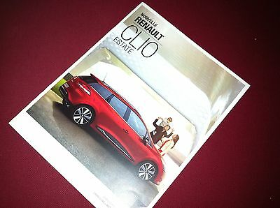 Renault Clio Estate Brochure - FRENCH - 2013