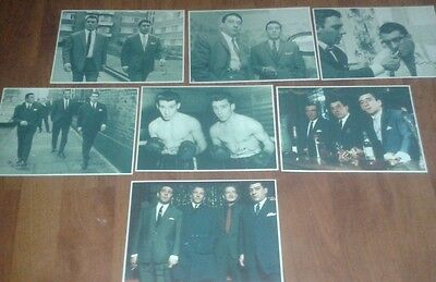 The Kray Twins. Signed Pictures. Krays. Legend. Gangsters. Ronnie & Reggie Kray.
