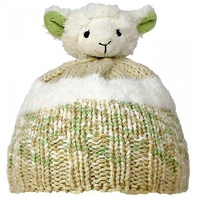 TOP THIS! LITTLE LAMB YARN KIT, Knit a Hat & Top it with a Plush Animal Topper