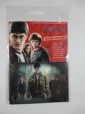 Harry Potter Travel Pass Card Holder Oyster Train Travel Ticket Wallet Official