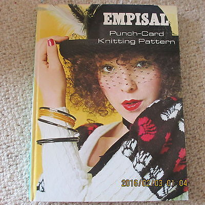 EMPISAL punch-card knitting pattern / hard cover