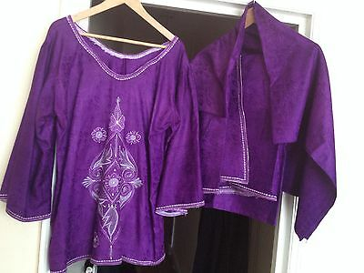 Three Piece African Handmade Outfit.