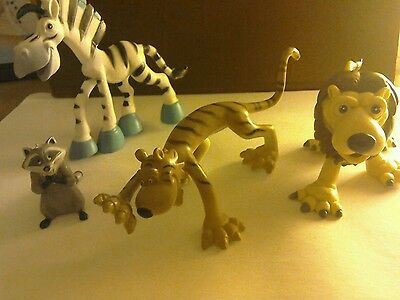 Four Wild Animal Characters-3 by Gosnell and 1 by Disney.
