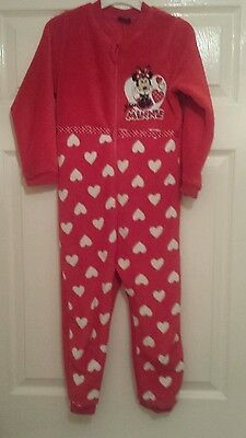 Girls minnie mouse onesie age 5 to 6