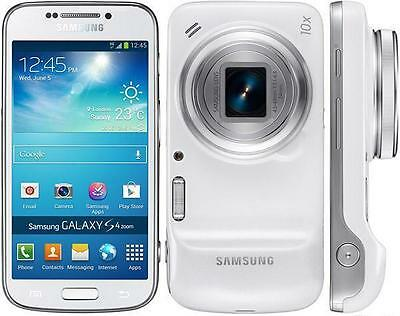 Samsung Galaxy S4 S-Iv Zoom Sm C1010 Camera Mobile Phone Apps - New