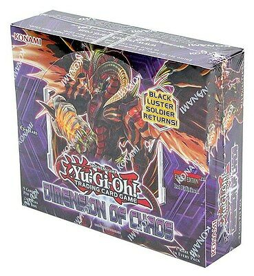 Dimensions of Chaos Booster Box NEW Sealed 1st Edition