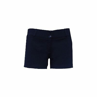 Navy School Shorts With Pockets - Also in Black & Grey
