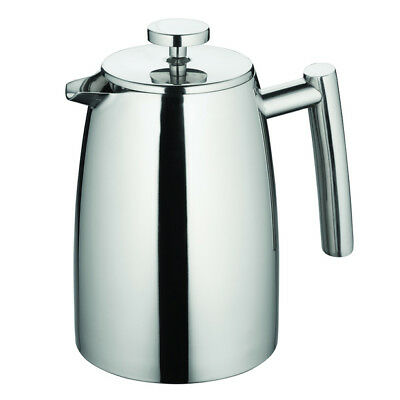 100% Genuine! AVANTI Modena S/S Twin Wall Coffee Plunger 800ml 6 Cup! RRP $89.95