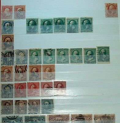 Stamps, United States Used & Mint Collection