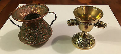 A Brass and A Copper Objet