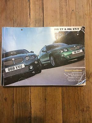 Mgzt -T  Owners Handbook / Service Book With Stamps