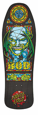 "Santa Cruz - Boyle Stained Glass 10.0"" Reissue Skateboard Deck"