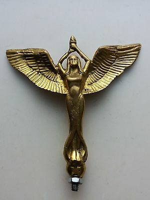 ANGEL Torch Bicycle and Motorcycle Front Mudguard Emblem Badge Bicycle Brass
