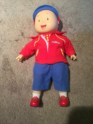 Electronic Talking Caillou Doll Rare Best Friend 25th Anniversary Works
