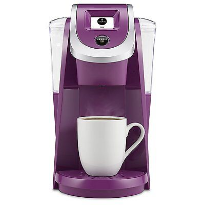 Keurig K250 5 Cups Coffee And Espresso Maker - Violet NEW in the BOX