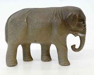 1930's ANTIQUE Vintage CELLULOID Toy ELEPHANT Figurine / Marked: Made in USA