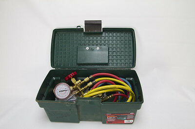 Interdynamics iD Manifold Gauge Set for R134A with 2 SAE Service Couplers