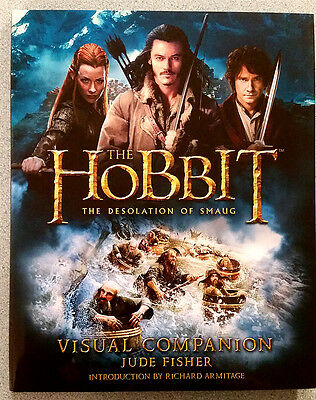 NEW The Hobbit The Desolation of Smaug Visual Companion Lord of the Rings LOTR