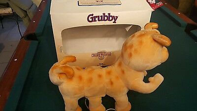 """14"""" Teddy Ruxpin Grubby Toy With Connector Cord Worlds of Wonder 1986 Untested"""