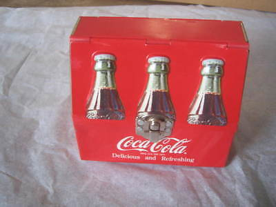Vintage Coca-Cola Metal Mini Lunch Box