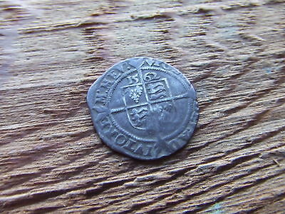 ELIZABETH 1st  1558- 1603.  SILVER THREEPENCE. 1562.  NICE CONDITION.
