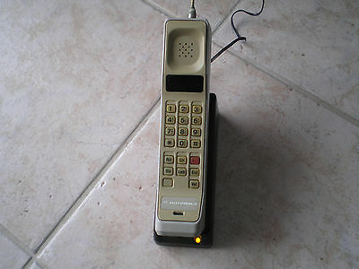 Vintage Motorola Brick Cell Phone for collectors ..not tested