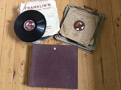 Bulk Lot Of Rare Gramophone Revords