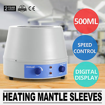 500Ml Heating Mantle Sleeves Electric 110V Thermostatic Temp-Control Good