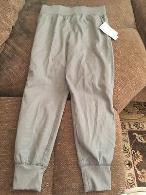 Danskin freestyle Pants  for gymnastics dance girls size 6 6X Size Small Gray