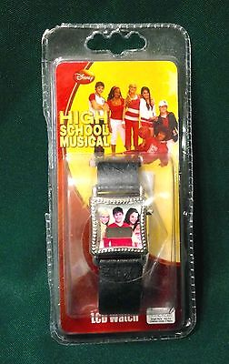 Disney High School Musical Collectors Lcd  Wrist Watch New In Package