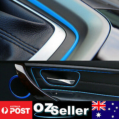 car auto interior decorative gap trim gap moulding edge line blue sold per meter aud. Black Bedroom Furniture Sets. Home Design Ideas
