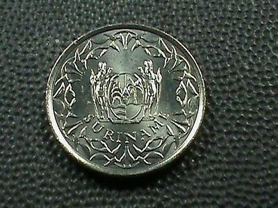 SURINAME    25  Cents    1979    BRILLIANT  UNCIRCULATED