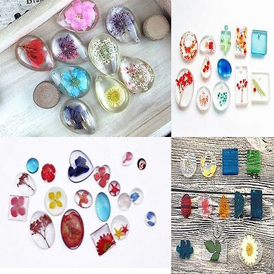 DIY Tool Wave Pendant Making Charm Tools Hole Jewelry Making Silicone Mould