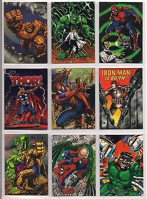 1994 MARVEL FLAIR ANNUAL COMPLETE 150 CARD BASE SET NM X-Men Masterpieces