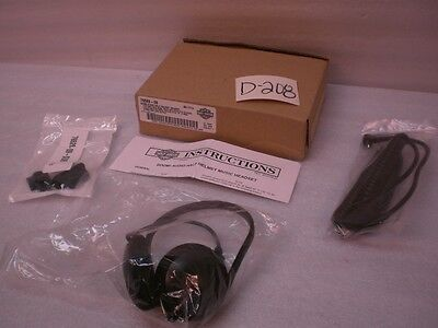New Harley Boom Audio Half Helmet Music Headset Touring Softail Dyna Sportster