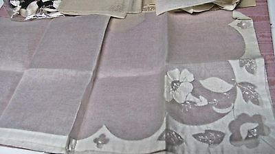 Cutwork - Large Napkins, Organdy Fabric - 1 Completed,.  Kit