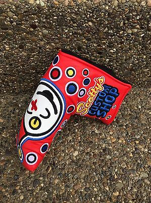 Scotty Cameron Red Custom Shop Jackpot Johnny Putter Headcover