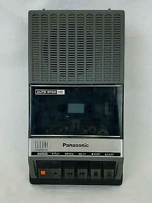 Vintage Panasonic Portable Cassette Recorder RQ-2105B Great Shape