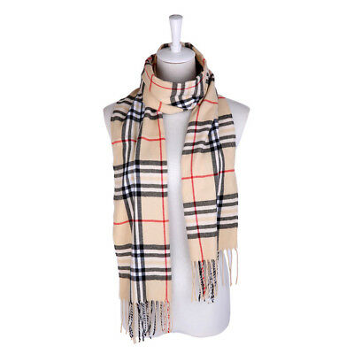 Kids Unisex Cool Tartan Plaid Scarf Colorful Neckwarmer Shwal Wrap