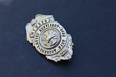 Duxbury MA Fire Department Ladies Auxiliary Badge