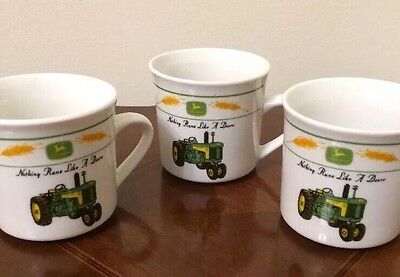 John Deere Nothing Runs Like A Deere Mug Tractor Wheat Gibson High Quality!