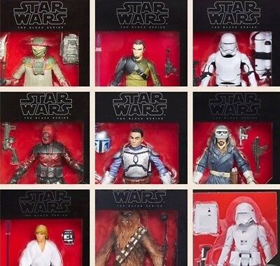 "Star Wars The Black Series Assorted 6"" Action Figures"