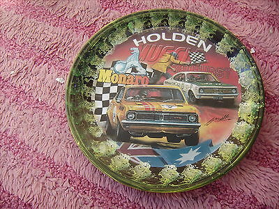 Holden Monaro  70S  On A Decoupage  Plate