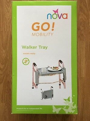 NOVA Medical Products Tray for Folding Walker Cup Holders #436T - New