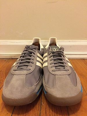 Brand new adidas men shoes size 13 sneakers grey suede