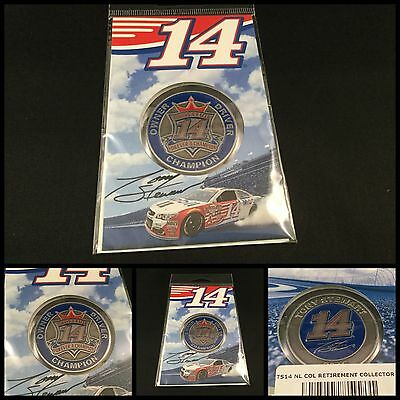 2016 Tony Stewart Last Ride Collector Race Coin New