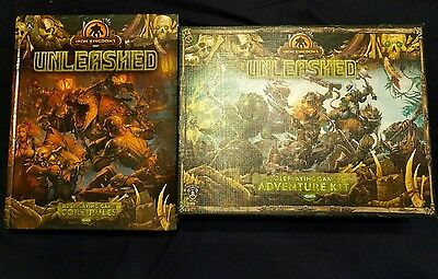 Iron Kingdoms Unleashed Core rules and Starter box